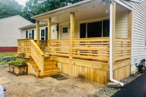 deck repair and construction project in virginia beach